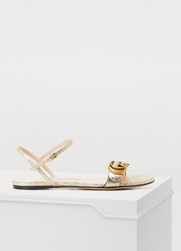 6ccede57b17 Women s GG Marmont sandals