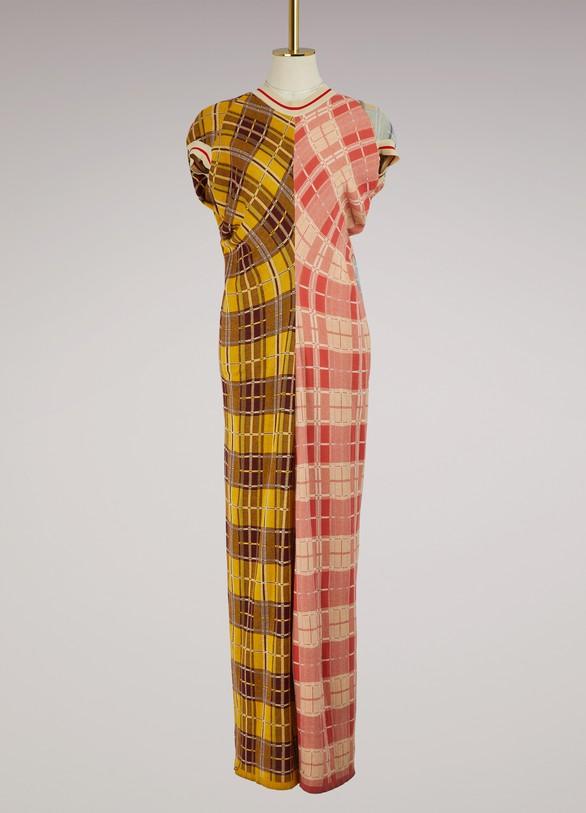 MarniLong short-sleeved dress