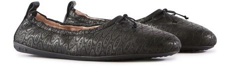 TOD'SAlber Elbaz x Tod's leather ballet pumps