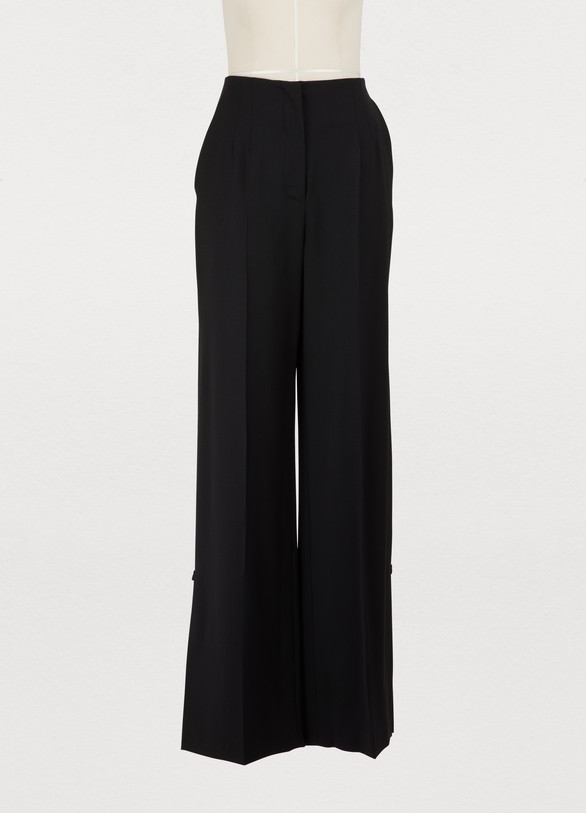 Proenza Schouler Wool wide-leg pants