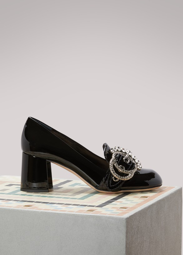 cfe6d209254b Miu Miu. Miu Miu Patent Leather Pumps