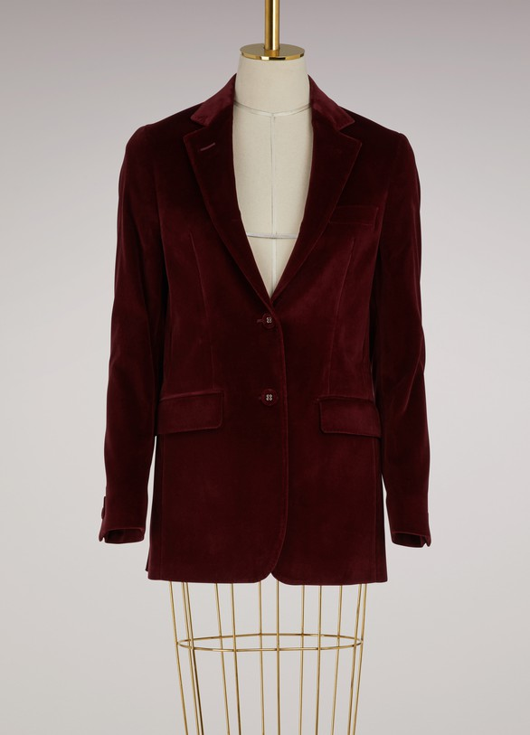 Officine GénéraleVelvet jacket