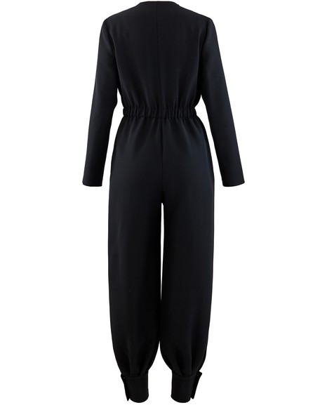 GUCCIWool and silk jumpsuit