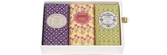 CLAUS PORTOClassico Gift Box 3x150 g Soap (8741 | Chic | Lavandre)