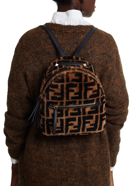 FENDI Sheep skin back pack