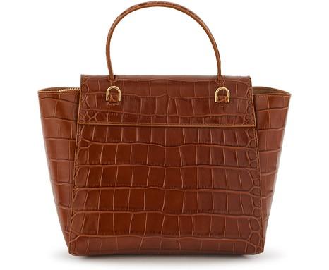 CELINEEmbossed crocodile leather Nano belt bag