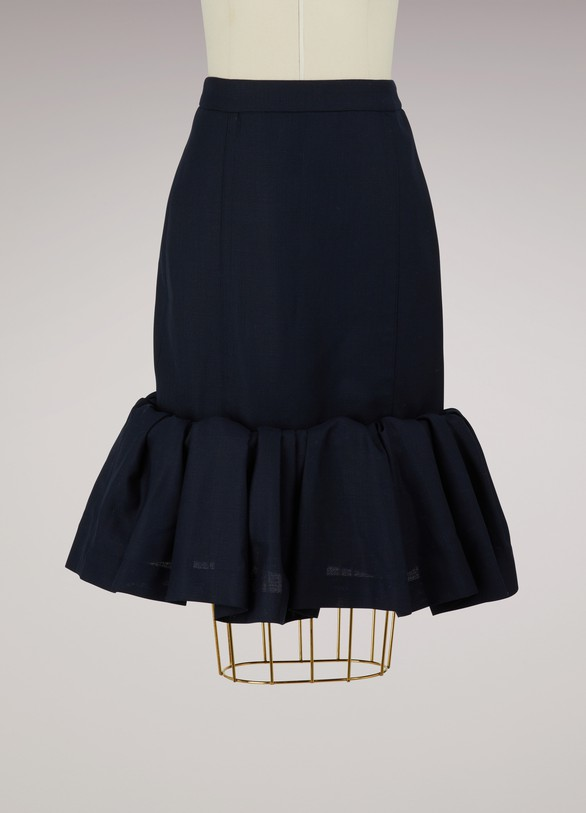 JacquemusWool skirt with