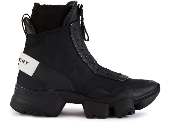 GIVENCHYJaw high-top trainers