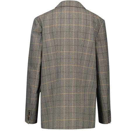PLAN CWool-blend blazer