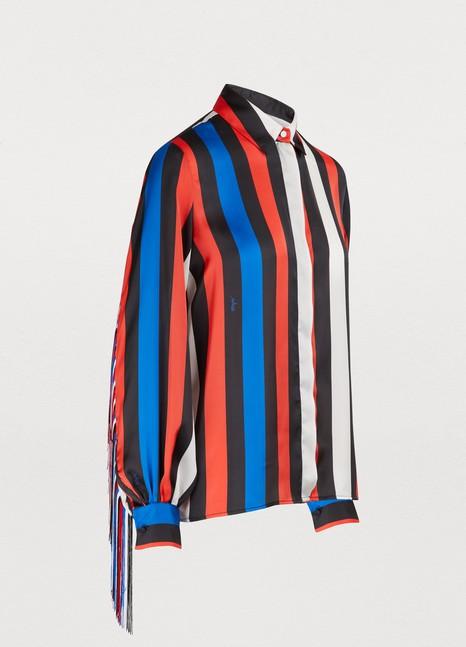 MSGMShirt with fringes