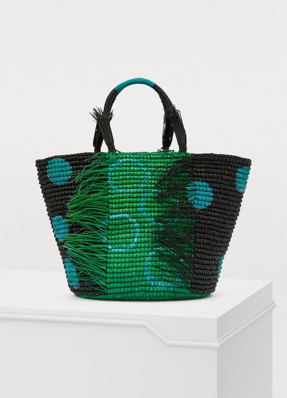 SENSI STUDIODots basket handbag