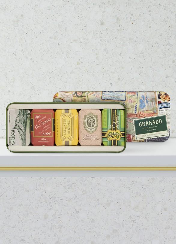 GranadoCoffret de savons Vintage