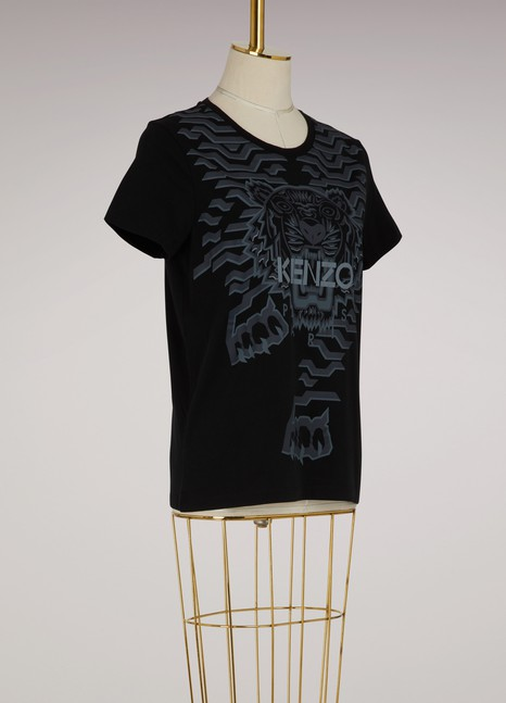 KenzoT-shirt Géo Tiger
