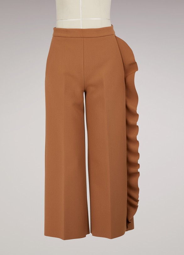 MSGM Ruffled Pants