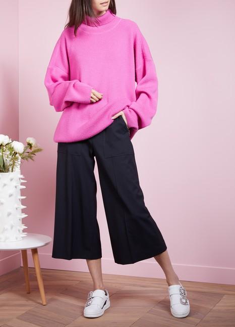 KENZOPantalon culotte en laine