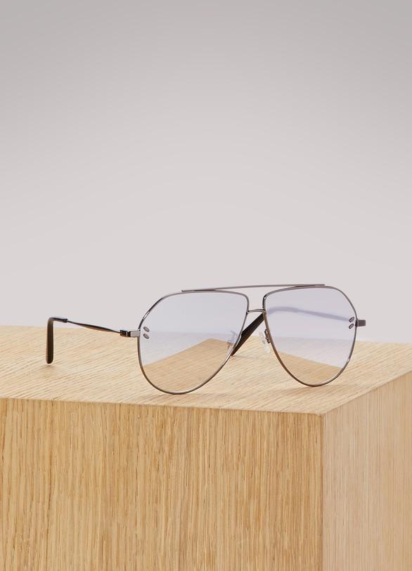 Stella McCartneyMetallized sunglasses