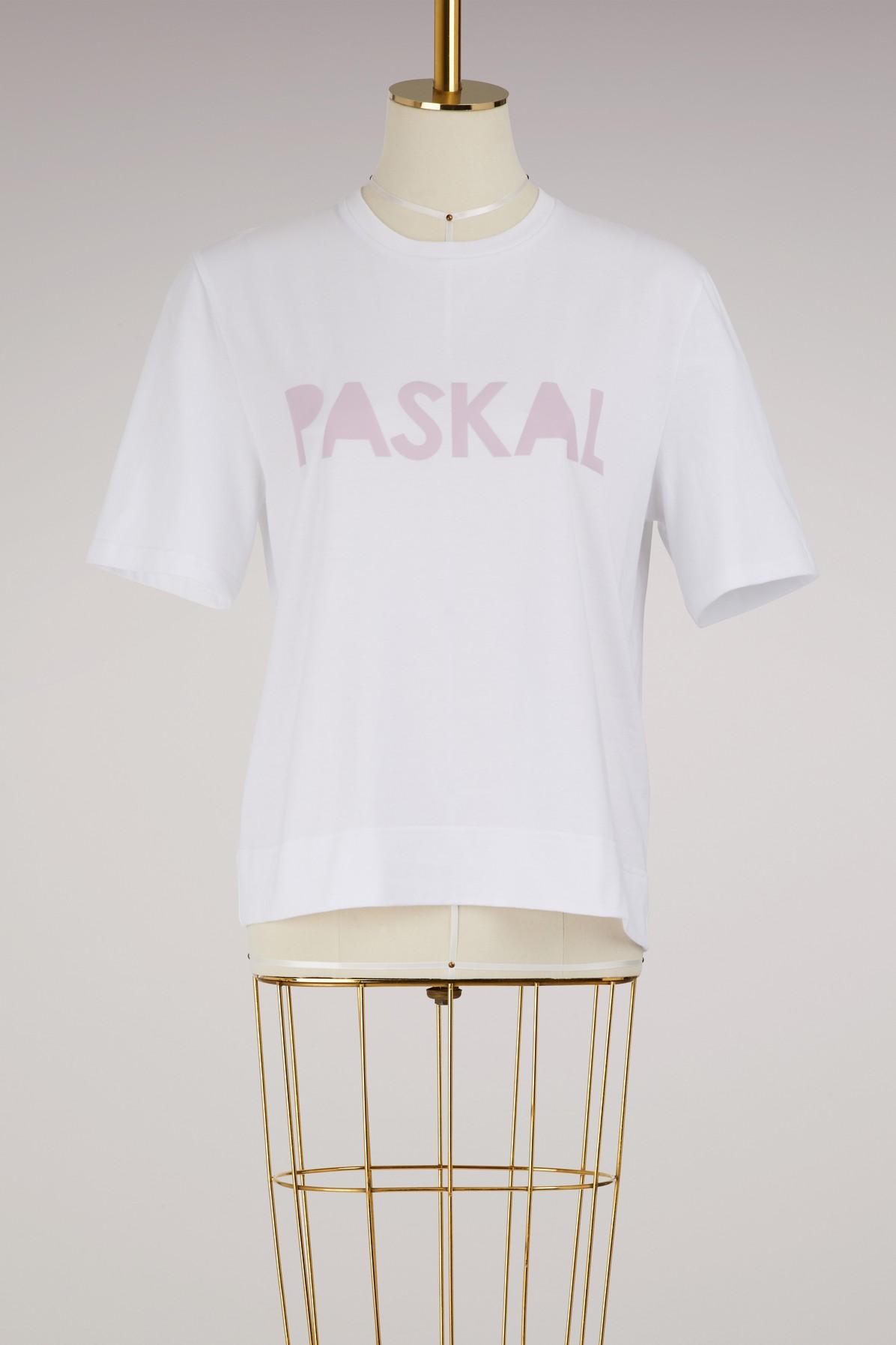 T-shirt logo en coton