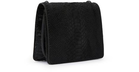 DRIES VAN NOTENCroc-effect shoulder bag
