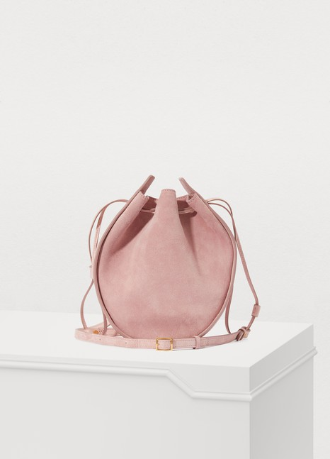 THE ROW Drawstring clutch bag