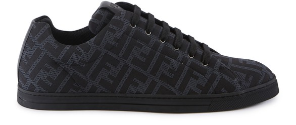 FENDI Baskets basses FF allover