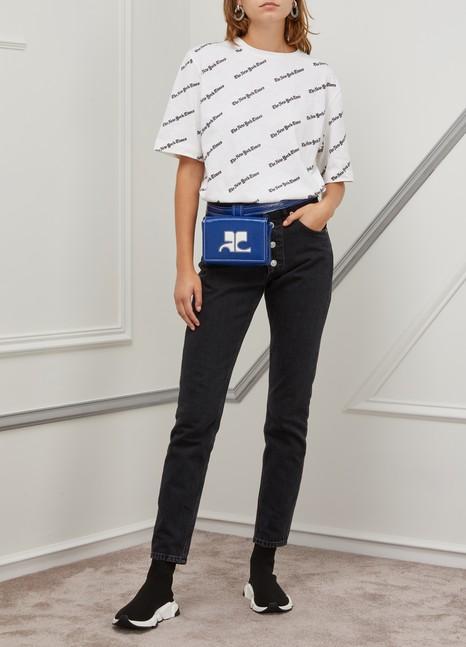 CourrègesVinyl waist bag box