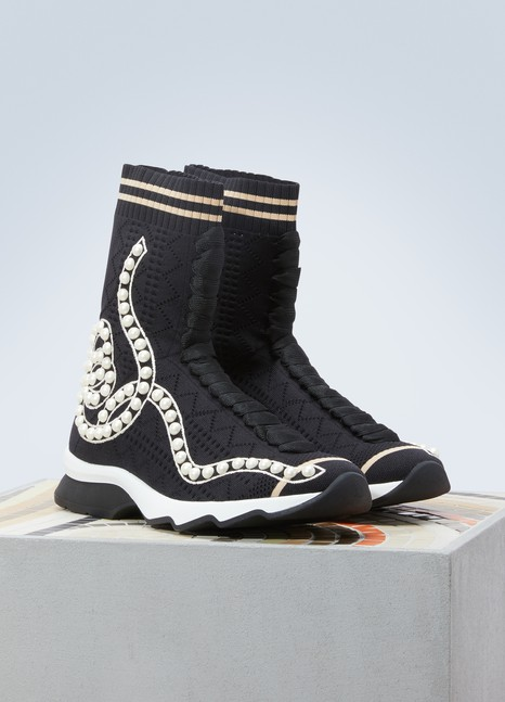 FendiSneakers-chaussettes