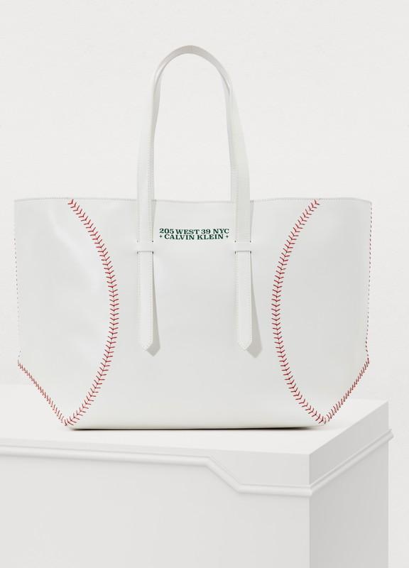 b0dd6a5c58ac Calvin Klein 205W39NYC. Baseball tote bag