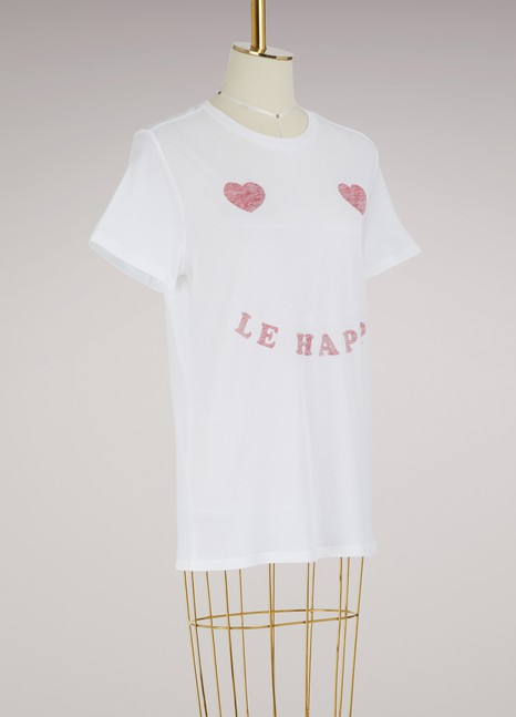 Zoe Karssen Loose Fit T-Shirt Le Happy