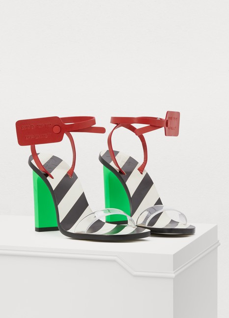 OFF WHITEZip tie sandals