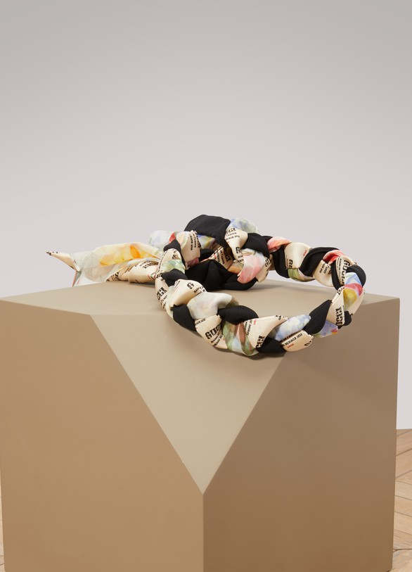 GucciStamp silk headband