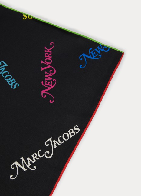 "Marc Jacobs ""Marc Jacobs New York Sq"" scarf"