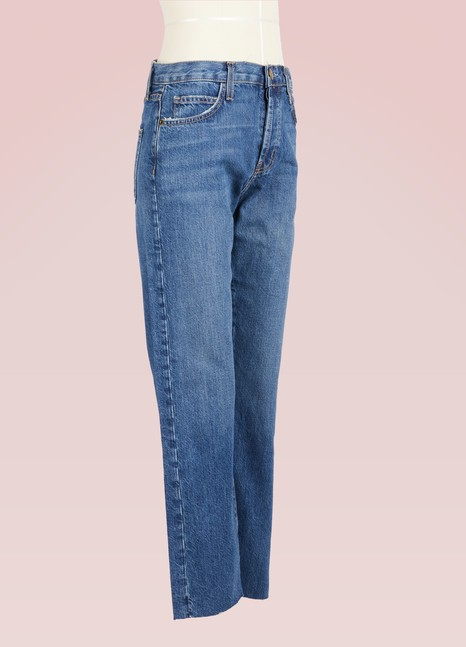 Current Elliott The Original Straight-Leg Jeans