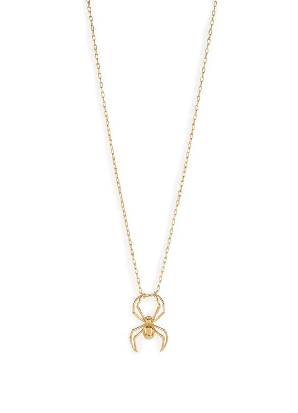 "AMBUSH""Spider Charm"" necklace"