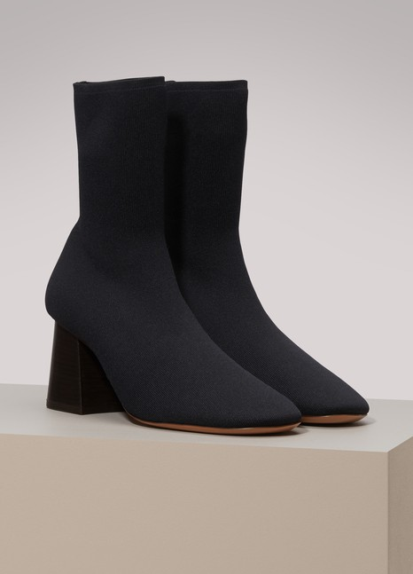 Céline Fitted ankle boots