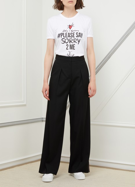 Dolce & GabbanaMessage t-shirt