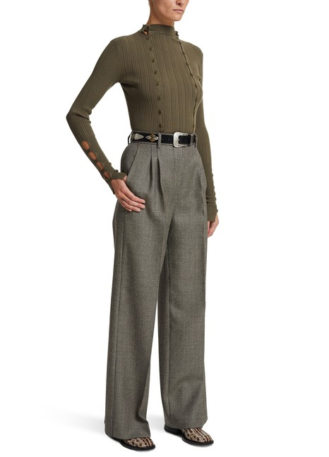 FENDIWool and silk trousers