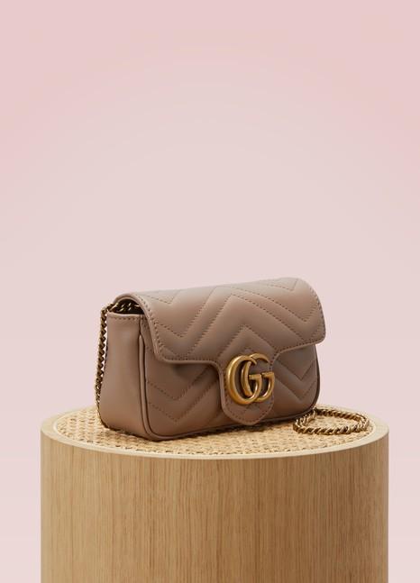 GucciSuper mini sac GG Marmont matelassé