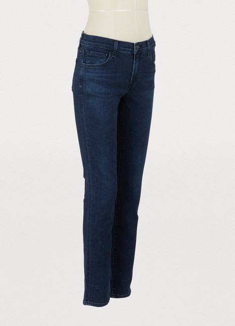 J BrandMid-rise skinny jeans