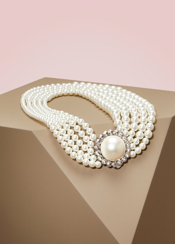 Miu Miu Pearl Necklace