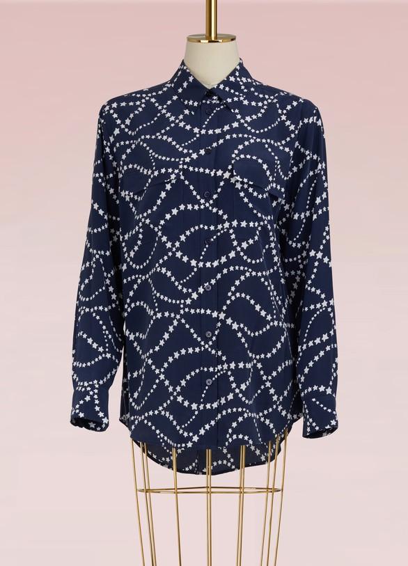 EquipmentEssential silk shirt