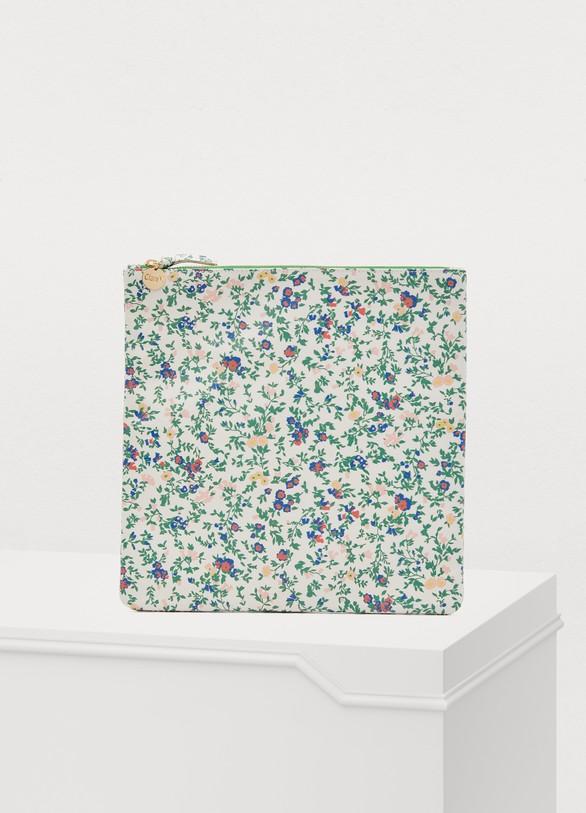 Clare VPochette imprimés fleurs