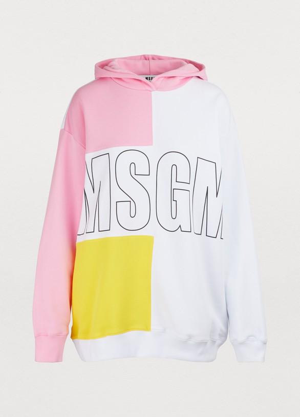 MSGMSweat à capuche logo
