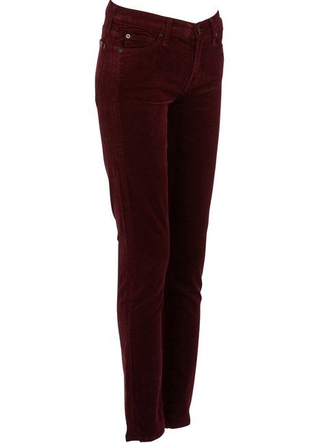 7 FOR ALL MANKIND The Skinny Jeans in velvet