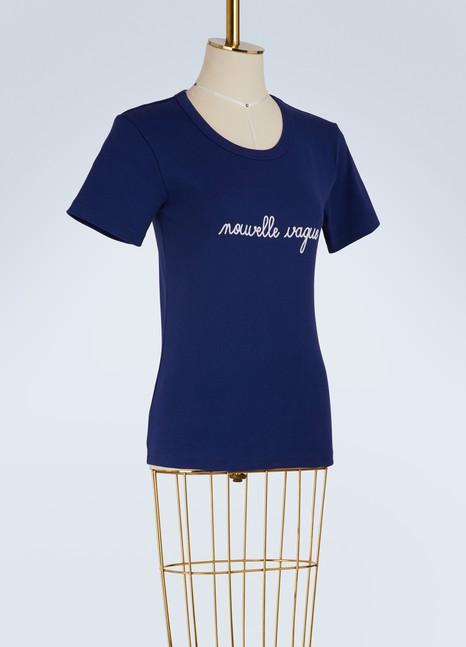 MAISON LABICHET-shirt nouvelle vague en coton