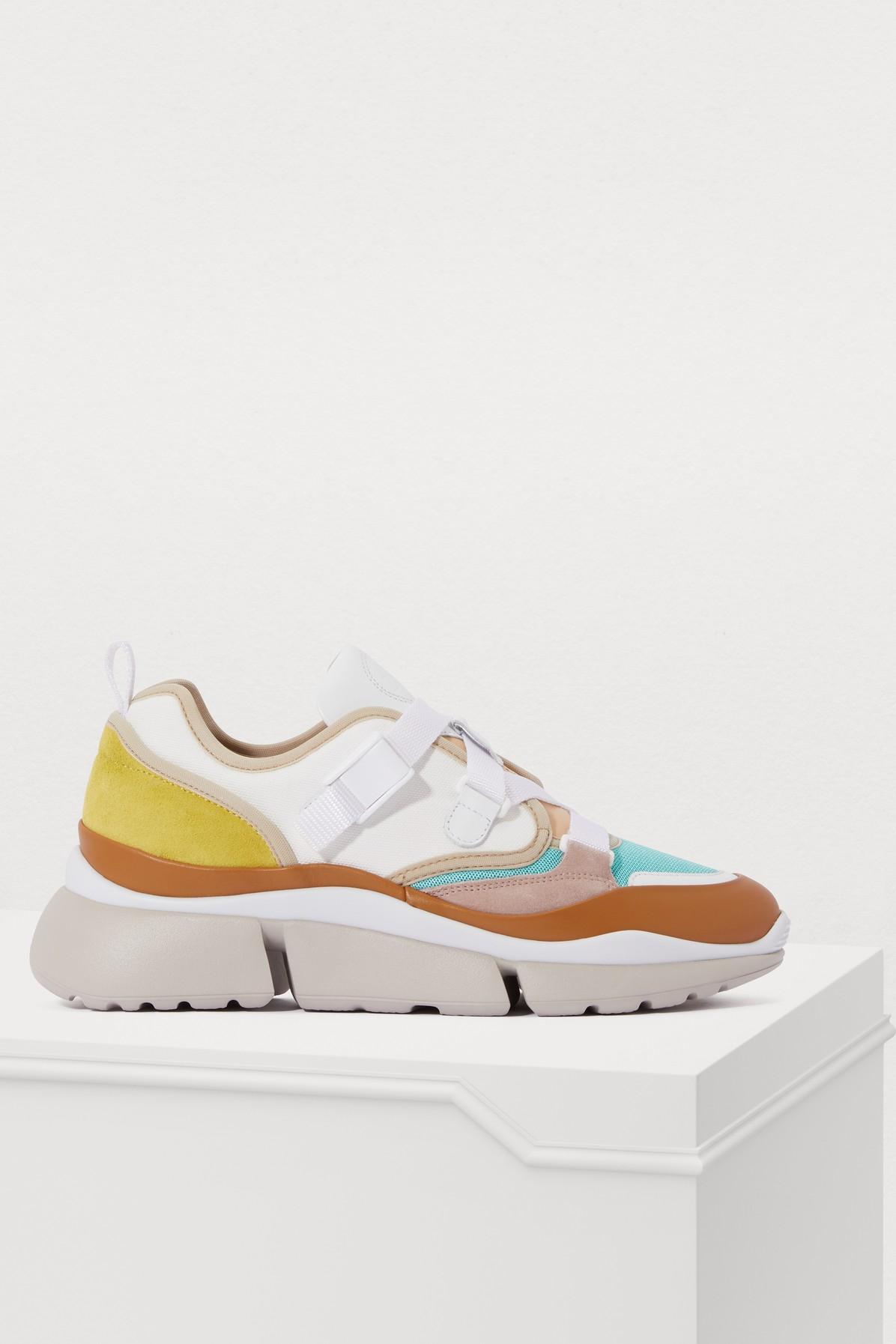 CHLOÉ | Sonnie Sneakers | Goxip
