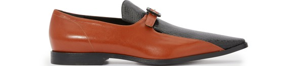DRIES VAN NOTEN Bi-material loafers