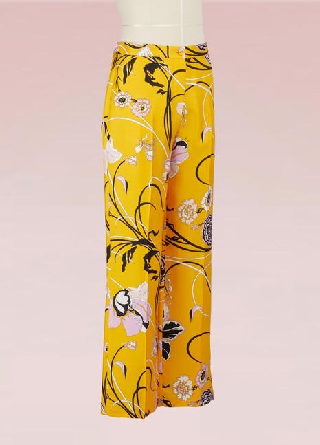 Emilio PucciPantalon pyjama en soie