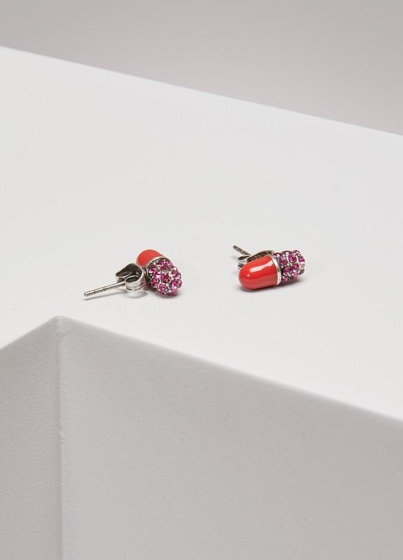 Marc JacobsCharms Wonderland Strass Pill Studs Earrings
