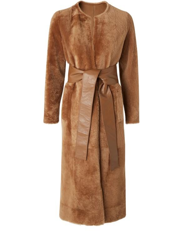 REJINA PYOClaire shearling coat
