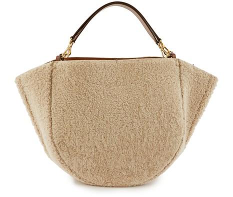 WANDLERMia woollen handbag